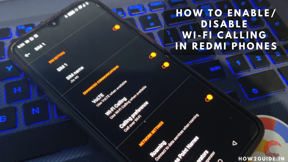 How to enable/disable Wi-Fi calling in Redmi phones