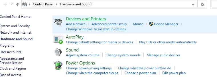 Check Wifi Card in Windows 8 or 10 from settings