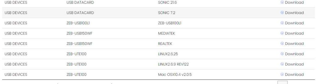 Visit this Link to Zebronics Adapter Driver Download