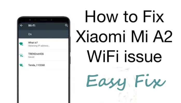 Mi Note 5 Pro Wifi| How to Fix