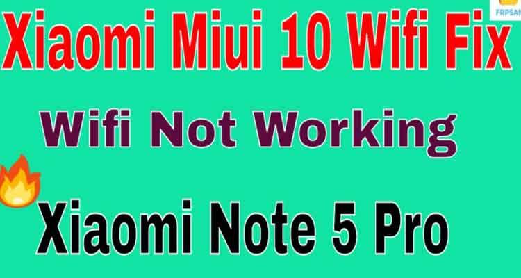 mi note 5 pro not working?