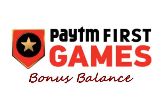 3 Ways to use PayTM First Games Bonus Balance