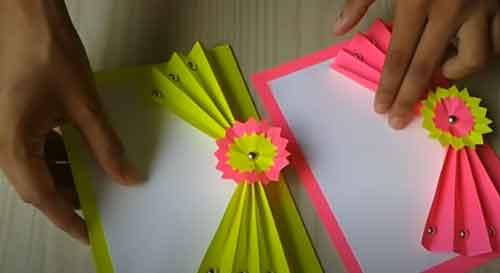 Teacher's day card making idea for beginners: